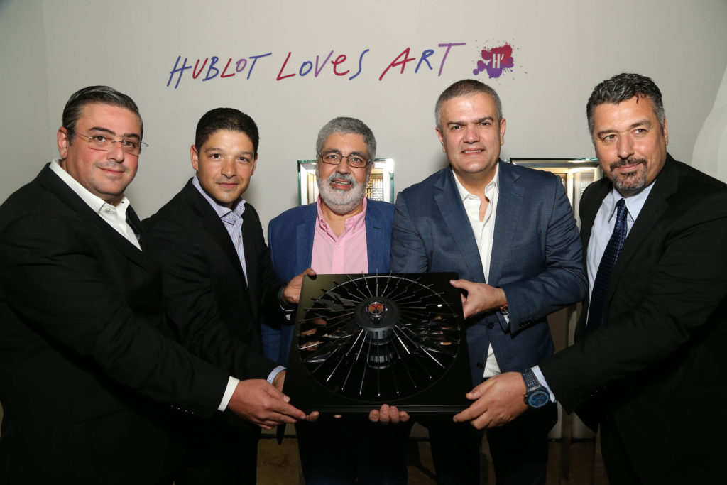 Rick De La Croix HUBLOT Cruz-Diez launch