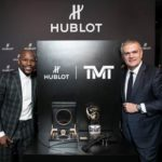 CEO HUblot And And TMT with the watches