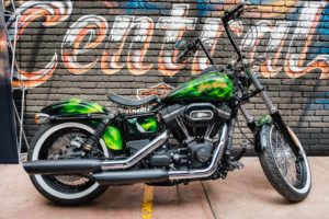 Pieric Rick De La Croix Harley Davidson Bomberg