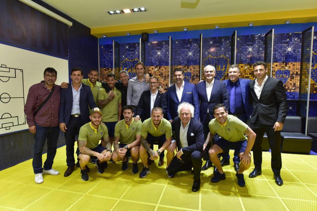 Rick de la Croix and Hublot Classic Fusion Chronograph Boca Juniors